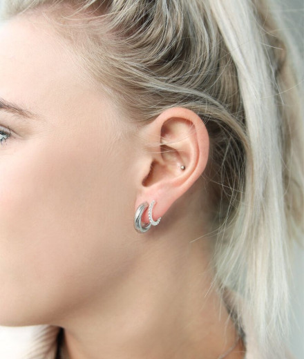 Boucles d'oreilles MADDY - or