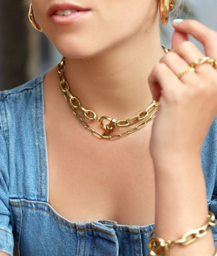 Collier MORGANE - or