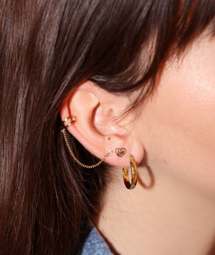 Boucles d'oreilles MARLYN - or